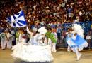 No Bailar do casal do momento da Marques de Sapucaí