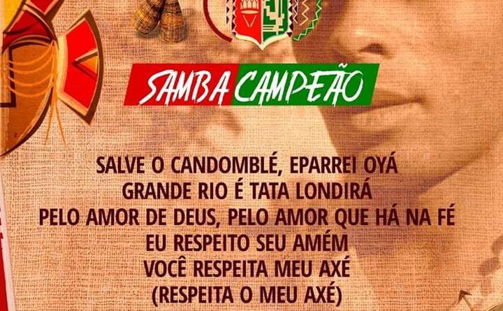 APÓS Á APRESENTAÇÃO DOS 5 SAMBAS CLASSIFICADOS ACADÊMICOS DO GRANDE RIO ! JÁ TEM SEU SAMBA PARA 2020!É PEDRA PRETA!