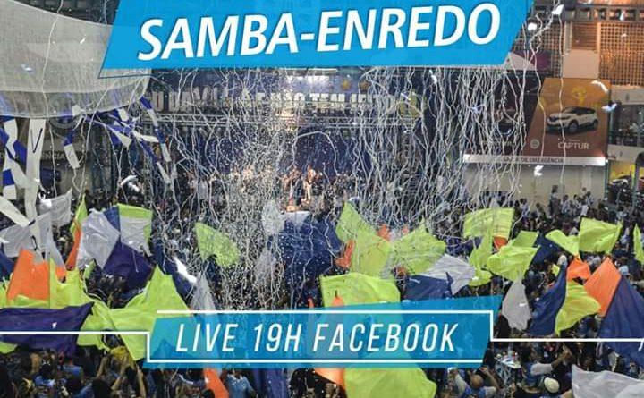 UNIDOS DA VILA ISABEL,  VAI LANÇAR O SAMBA ENREDO(01/10), ATRAVÉS DA LIVE NO FACEBOOK!