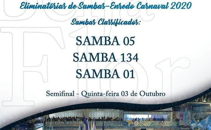 BEIJA-FLOR DE NILÓPOLIS, HAVERÁ DISPUTAS DO SAMBA ENREDO NESTA QUINTA-FEIRA(03/10), TRÊS SAMBAS VÃO PARA SEMIFINAL!
