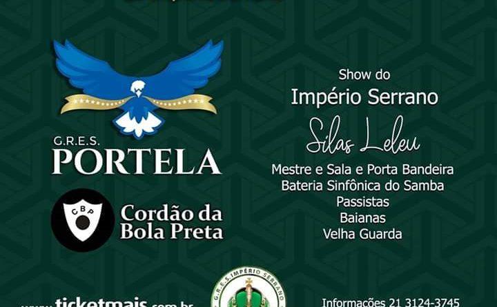 Portela, Império Serrano e Cordão da Bola Preta num só evento! Dia 18/01/2020 , MADUREIRA VAI PARAR! Com a FEIJOADA DO IMPÉRIO SERRANO!