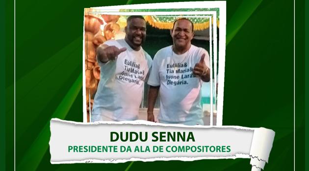 Império Serrano anuncia Dudu Senna como Presidente da Ala de Compositores