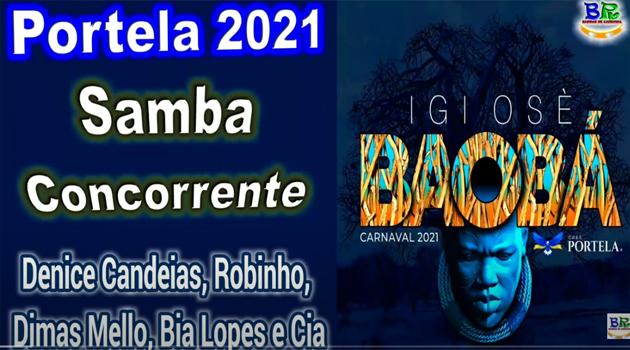 Estreia de Bia Lopes e Nana Alves na Parceria de Denise Candeias, um ótimo samba para concorrer na Portela!